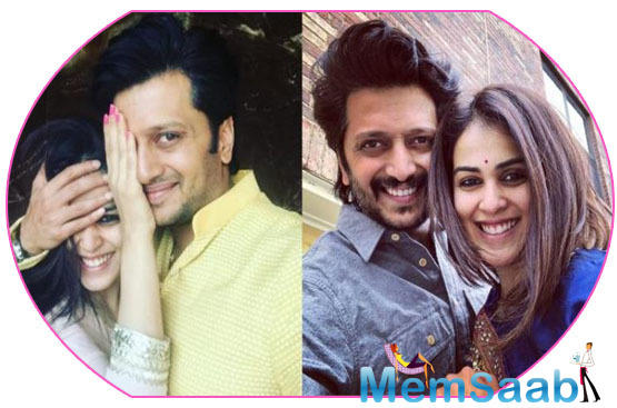 Wedding Anniversary: I love being my Husband's wife says Genelia Dsouza