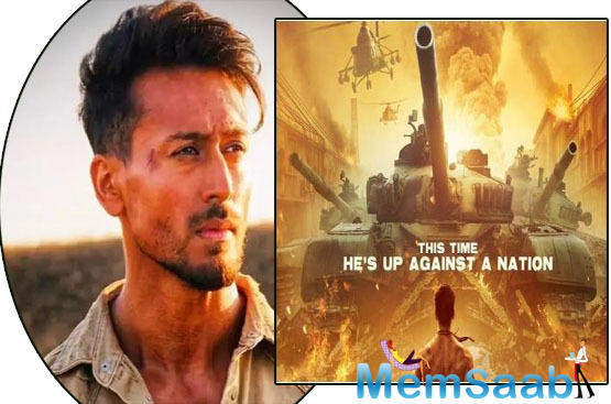 Baaghi 3 poster out! This time, Tiger Shroff is up against a nation