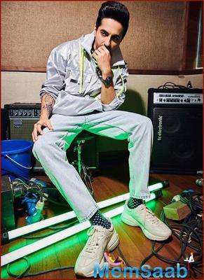 Ayushmann lends voice for Shubh Mangal Zyada Saavdhan song: Ek waqt mic ke saamne khada hona sapna tha