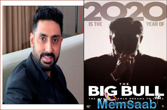 Producer Anand Pandit, who has been working with Abhishek Bachchan in the upcoming film The Big Bull, is all praises for the actor.
