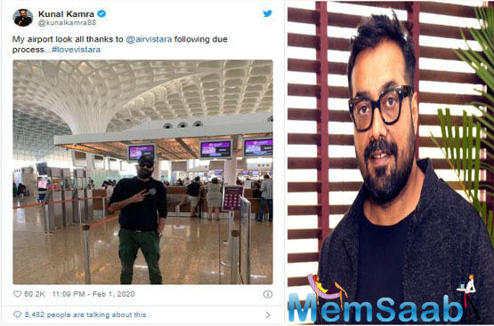 I will not take an Indigo flight because the ban was very unreasonable: Filmmaker Anurag Kashyap takes a stand for Kunal Kamra
