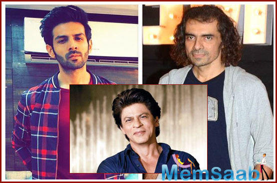 Imtiaz Ali compares Kartik Aaryan to SRK, says Hard working and extremely helpful and very dedicated just like Shah Rukh