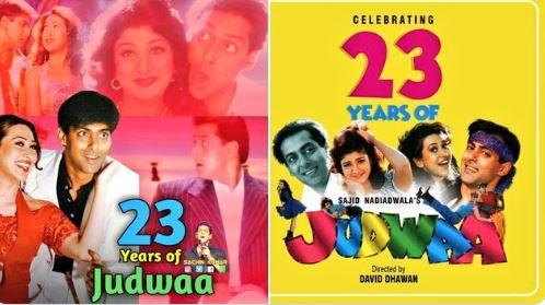 Salman Khan's 'Judwaa' completes 23 years, fans get nostalgic