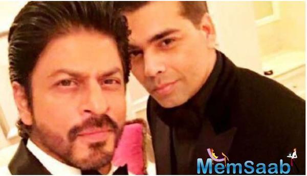 SRK and Karan Johar will reunite for a film soon?