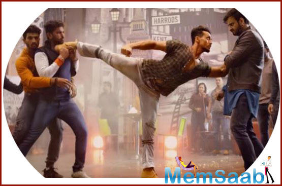 In this Tiger Shroff hollers,