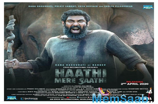 Haathi Mere Saathi: Rana Daggubati announces the release date of his next