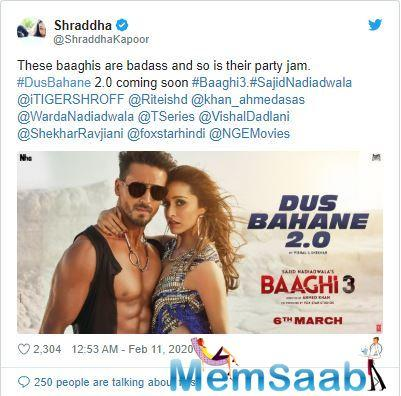 The chemistry that Abhishek Bachchan and Zayed Khan shared in the catchy and infectious song can hardly be matched. Tiger Shroff and Shraddha Kapoor all set to groove on this classic song from Dus.