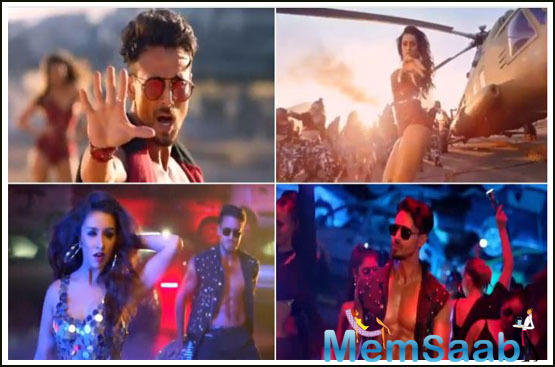 Dus Bahane 2.0 is out: Tiger Shroff and Shraddha Kapoor make the song grander!