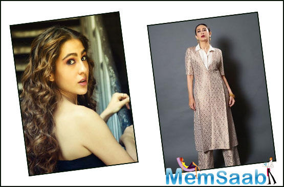 Sara Ali Khan: I have a very big crush on Karisma Kapoor