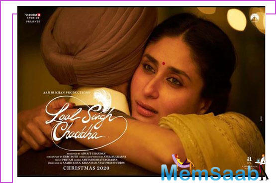 Now, after keeping us intrigued about Kareena's character look, the makers, on the occasion of Valentine's Day, drew curtains from her poster.