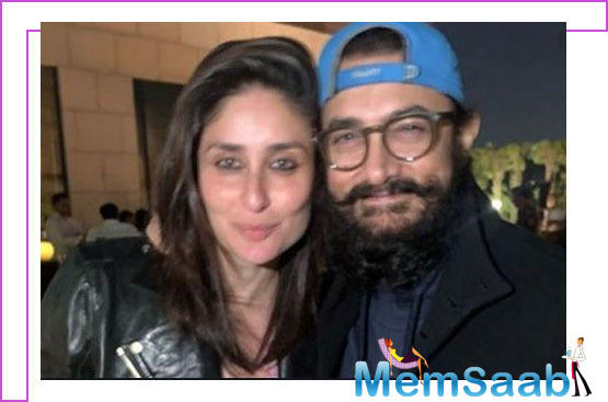 On the occasion of Valentine's Day, Aamir Khan unveils Kareena Kapoor Khan's look from 'Laal Singh Chaddha'