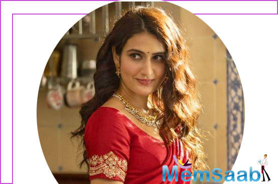 Fatima Sana Shaikh first look from Suraj Pe Mangal Bhari