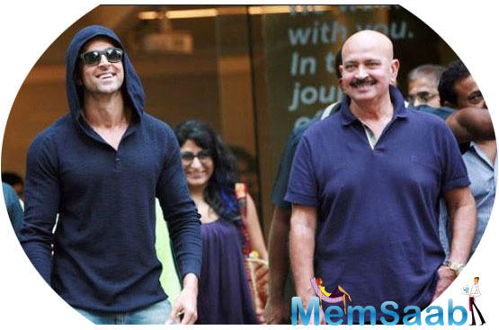 The father-son duo has worked together in blockbusters like Kaho Naa... Pyaar Hai, Koi Mil Gaya, Krrish and Krrish 3 as director and actor.