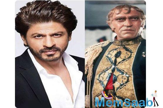 Shah Rukh Khan turns down the role of Mogambo?