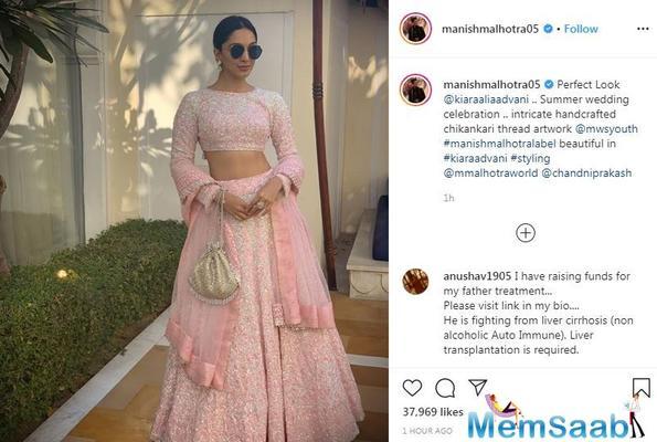 Summer wedding inspiration: Kiara Advani looks like a million bucks in this pastel pink lehengha