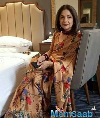 Take a look: This picture of Neena Gupta proves that she has stopped ageing