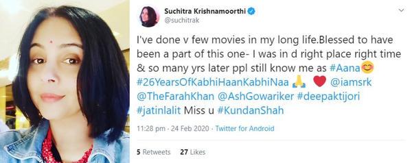 SRK Starrer 'Kabhi Haan Kabhi Naa' turns 26: A beautiful reminder that love can never be forced