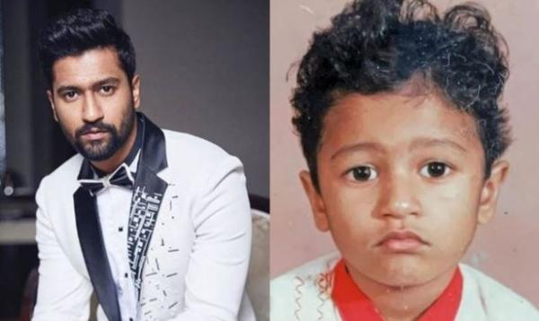 Vicky Kaushal looks Unrecognizable in this childhood pic