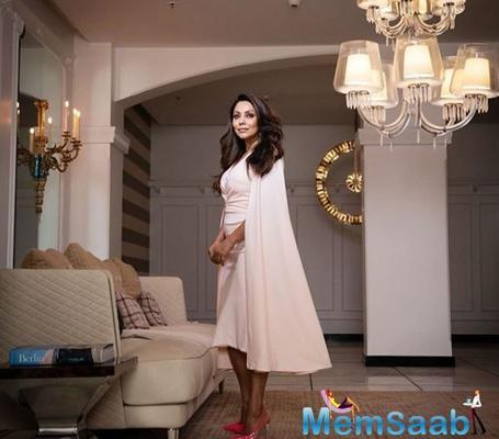 Gauri Khan turns host