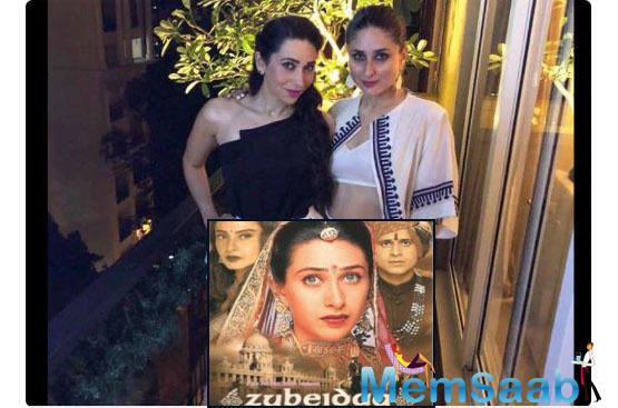 The entertainment portal also spoke to Khalid who said he is yet to talk to Karisma and Kareena about Rutbaa.