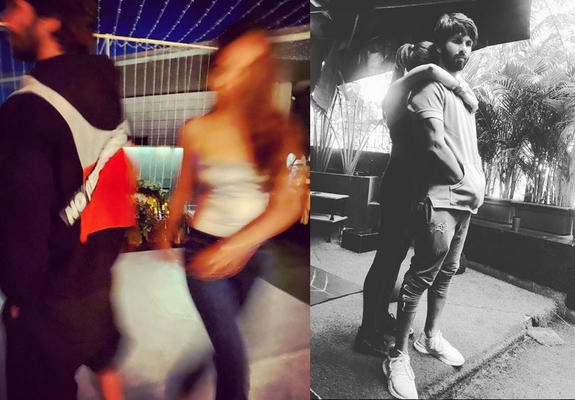 Mira had shared a blurry picture of Shahid and her on social media