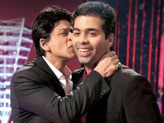 Karan Johar shares a throwback picture with Shah Rukh Khan
