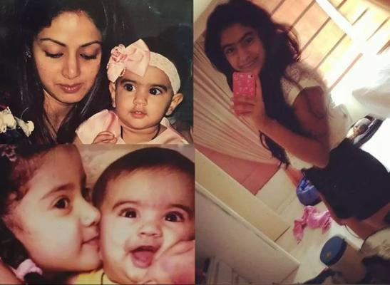 Happy birthday Janhvi Kapoor: Sridevi's daughter is the apple of her family's eyes