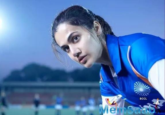 Taapsee learns Kutchi to play the role of an athlete