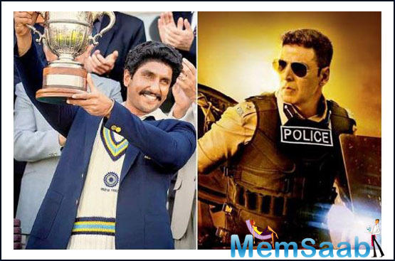 Like James Bond, the bigwigs of Bollywood too are apparently rethinking the release dates of upcoming films — including Sooryavanshi and 83 — to avoid losses.