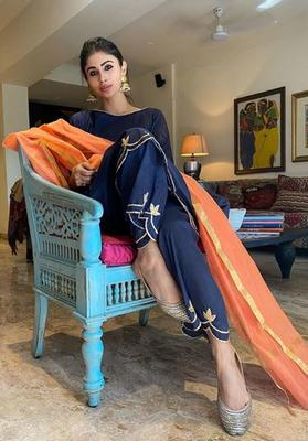 Mouni is known for her experimentation also her transformation over the years