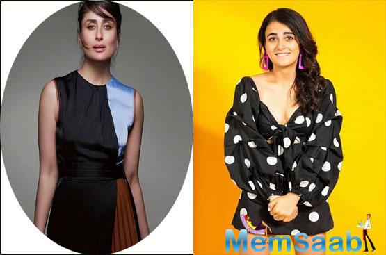 Radhika Madan says, I was literally shivering everytime when I met Kareena Kapoor Khan