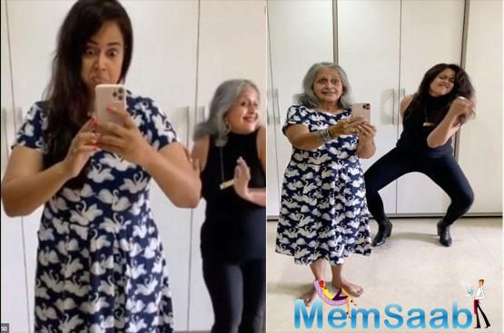 Flip the switch challenge: Sameera Reddy and her mother-in-law are winning the internet and it is just too adorable
