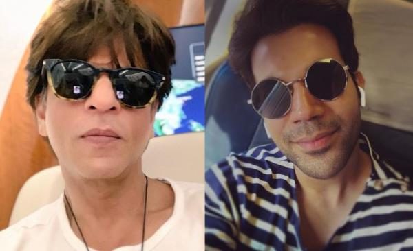 Shah Rukh Khan, Rajkummar Rao strike a pose in a new photo