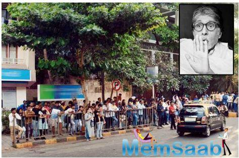 Even Coronavirus cannot stop fans from meeting Amitabh Bachchan