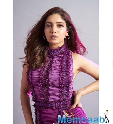 Bhumi Pednekar says I want to compete with myself and do better with each film