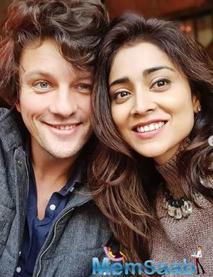 So Cute! Shriya Saran's picture with her Russian hubby will melt your heart away!