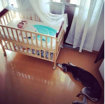 Kalki Koechlin posted an adorable picture of her daughter Sappho calmly resting