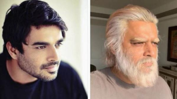 A Twitter user shared a meme of Madhavan with big beard after 21 days in the quarantine