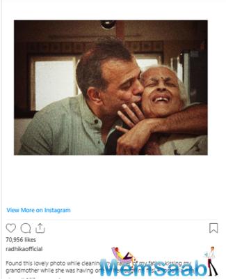 Radhika Apte's latest Instagram post is all about nostalgia