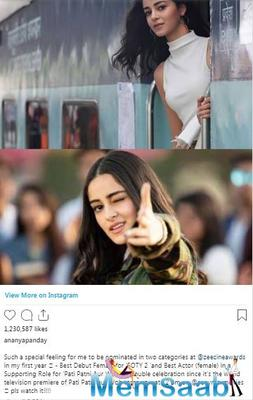 However, the actress's latest release Pati Patni or Woh' really proved that she could bring out an assortment of characters to us.