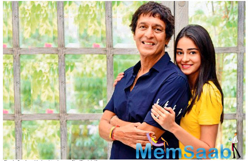 Ananya Panday reveals her Dad Chunky Panday did not congratulate her until the release of her debut film, Student of The Year 2'?