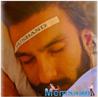 Deepika Padukone does something hilarious as hubby Ranveer Singh enjoys sleep