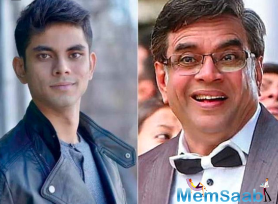 Paresh Rawal's son Aditya is all set to make his acting debut with the ZEE5 original film Bamfaad
