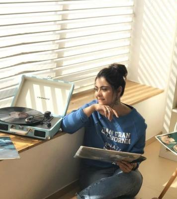 Kajol and her family are in self-isolation at their residence in Mumbai