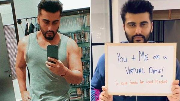 Arjun Kapoor to go on a virtual date to raise funds for daily wage workers