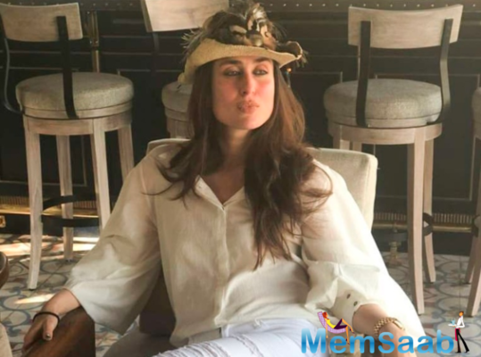 After treating fans with a workout pout last week, Bollywood diva Kareena Kapoor Khan has now aced