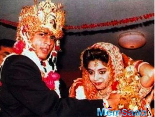 Did you know that SRK and Gauri got married thrice?