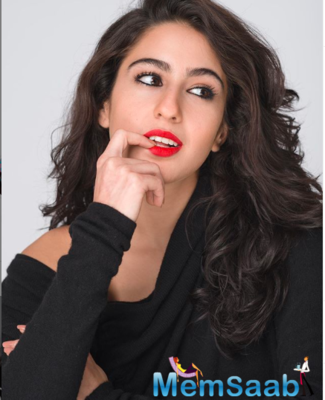 Sara Ali Khan posts a pretty picture to wish her fans on the occasion of Easter
