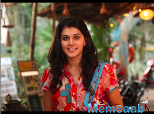 Taapsee Pannu on Rashmi Rocket prep: Impossible to look like a sprinter with a basic workout