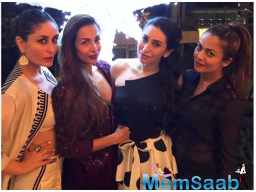 The entire gang of the stunning divas were high on fashion with their shoes and accessories.